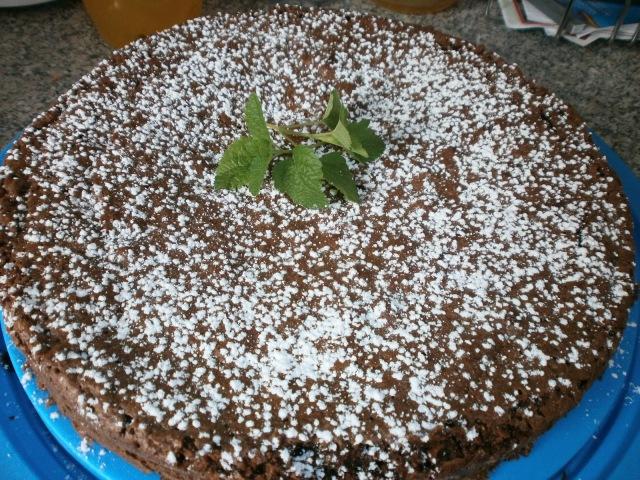 französischer Schokoladenkuchen glutenfrei