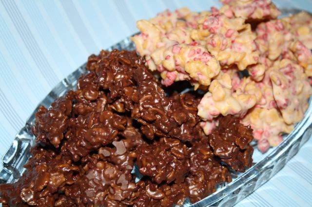 Vollmilch Kirsch und Erbeer mit weißer Schokolade