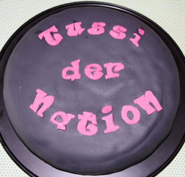 Zebrakuchen für Tussi
