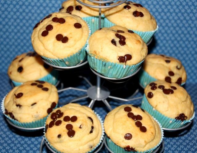 Pfannkuchen in Muffinform, Frühstück