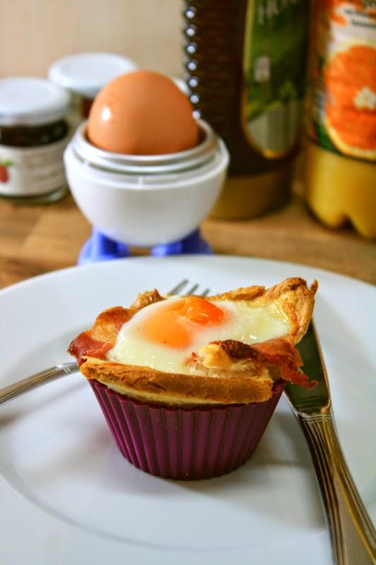 Herzhaftes Frühstück, schnell und lecker