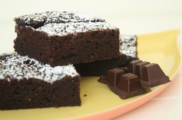 Vegane Brownies - glutenfrei, lactosefrei, für Nussallergiker geeignet
