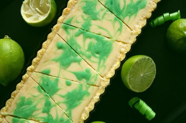 Limetten-Tarte, Sommerkuchen