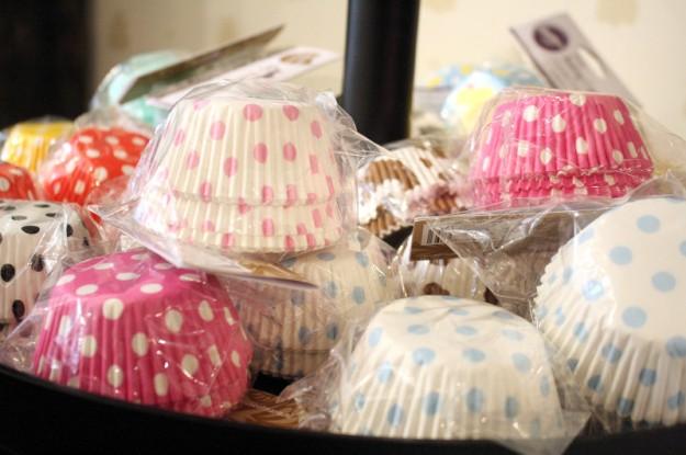 große Polka Dot Liebe - Bake a wish