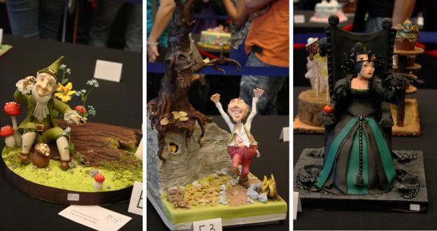 Collage Dekoratives Element Grimm Cake Germany 2014