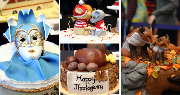 Collage Festtagstorten Cake Germany 2014 2