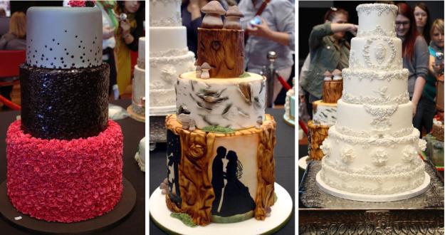 Collage Hochzeitstorten Cake Germany 2014