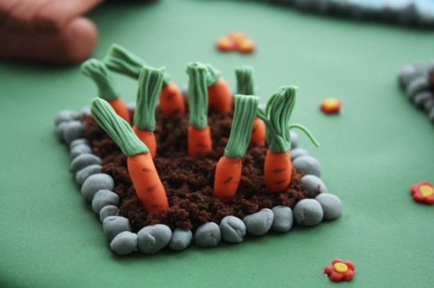 Fondant Karotten
