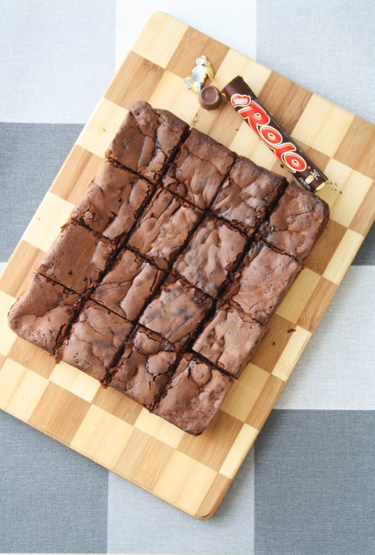 Rollo-Brownies