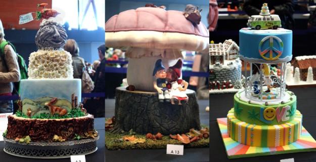 Collage Cake Germany 2015 A Hochzeitstorten