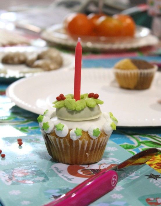Weihnachts-Cupcake SWEETmag